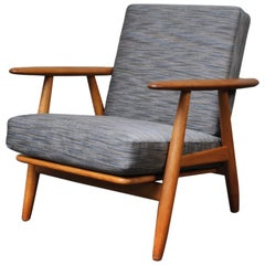 Original 1950s Hans Wegner GE240 Cigar Chair