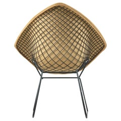 Original 1953 Harry Bertoia Diamond Chair for H. G. Knoll Products