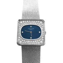 Patek Philippe Watch, circa 1970 Set with Diamonds