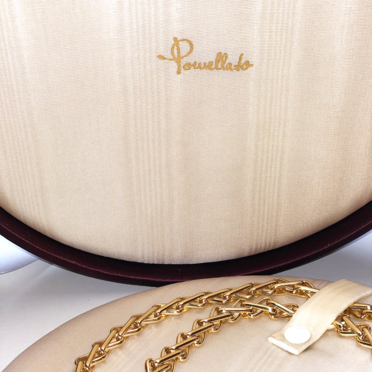 Original 1980 One-of-a-Kind Pomellato 18K Solid Yellow Gold Long Chain Necklace For Sale 11