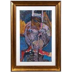 Original, 1985 Abstract Figurative Painting