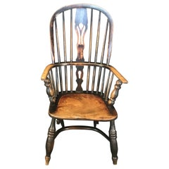 Original 19th Century Oak Classic British Windsor Chair