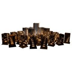 Original 20 Candleholders Set, Kaleido, Arturo Erbsman