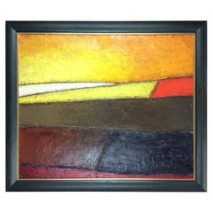 Original 20th Century Abstract Painting by Christian Lagarde Demianoff