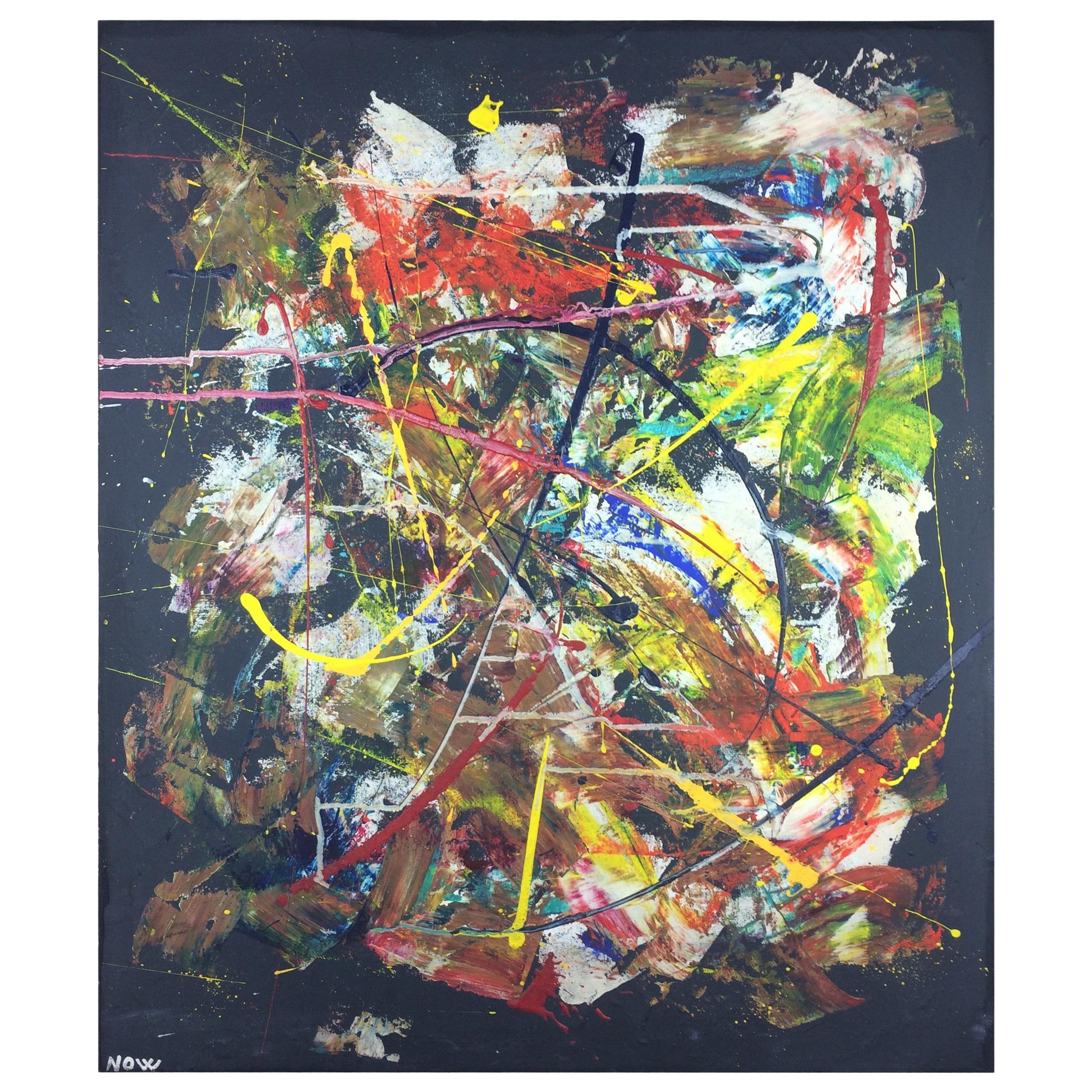 Original 20th Century Abstract Painting