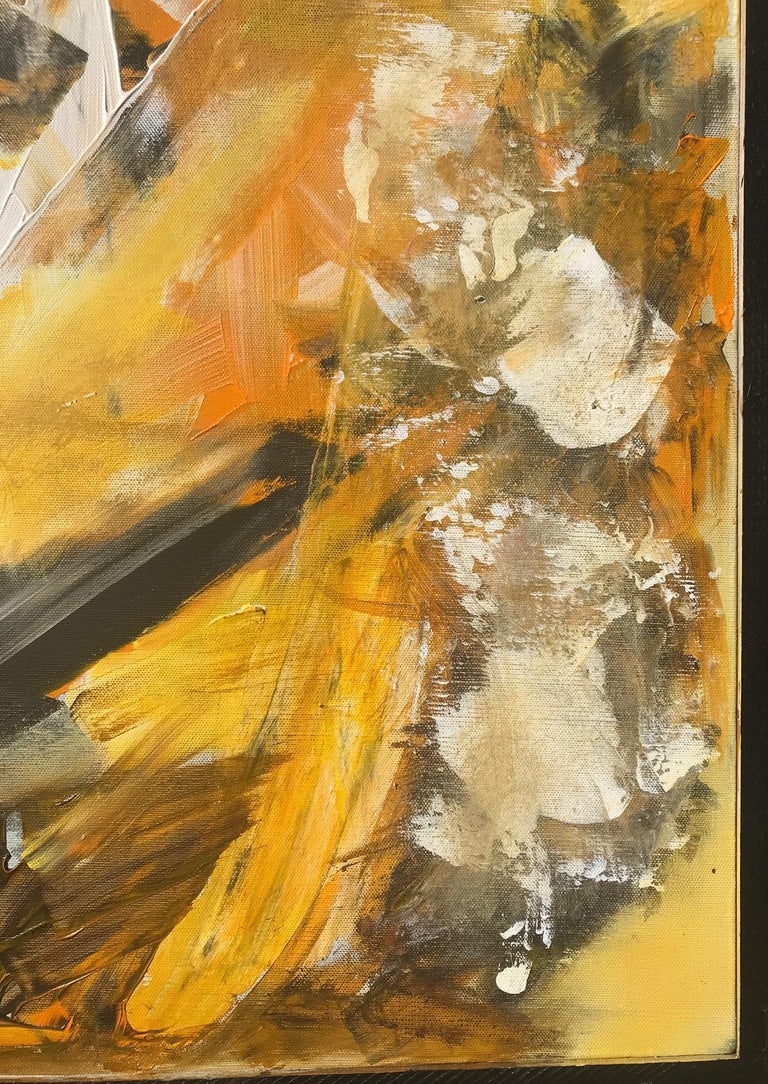 Original Abstract Painting, Large Signed Contemporary Expressionist Artwork For Sale 4