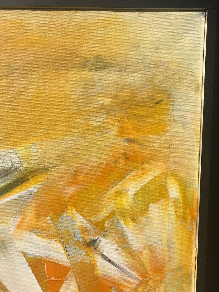 Original Abstract Painting, Large Signed Contemporary Expressionist Artwork In Excellent Condition For Sale In Vero Beach, FL