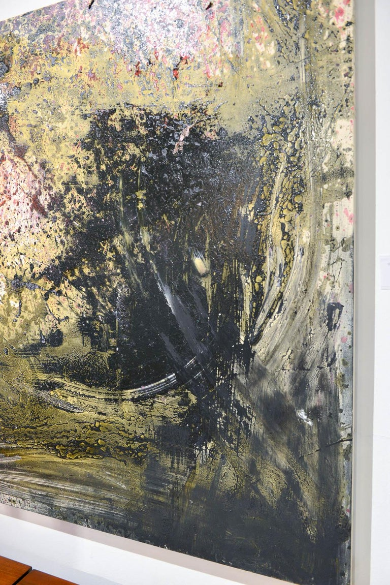 American Original Abstract Painting on Canvas by Brandon Charles Weber For Sale