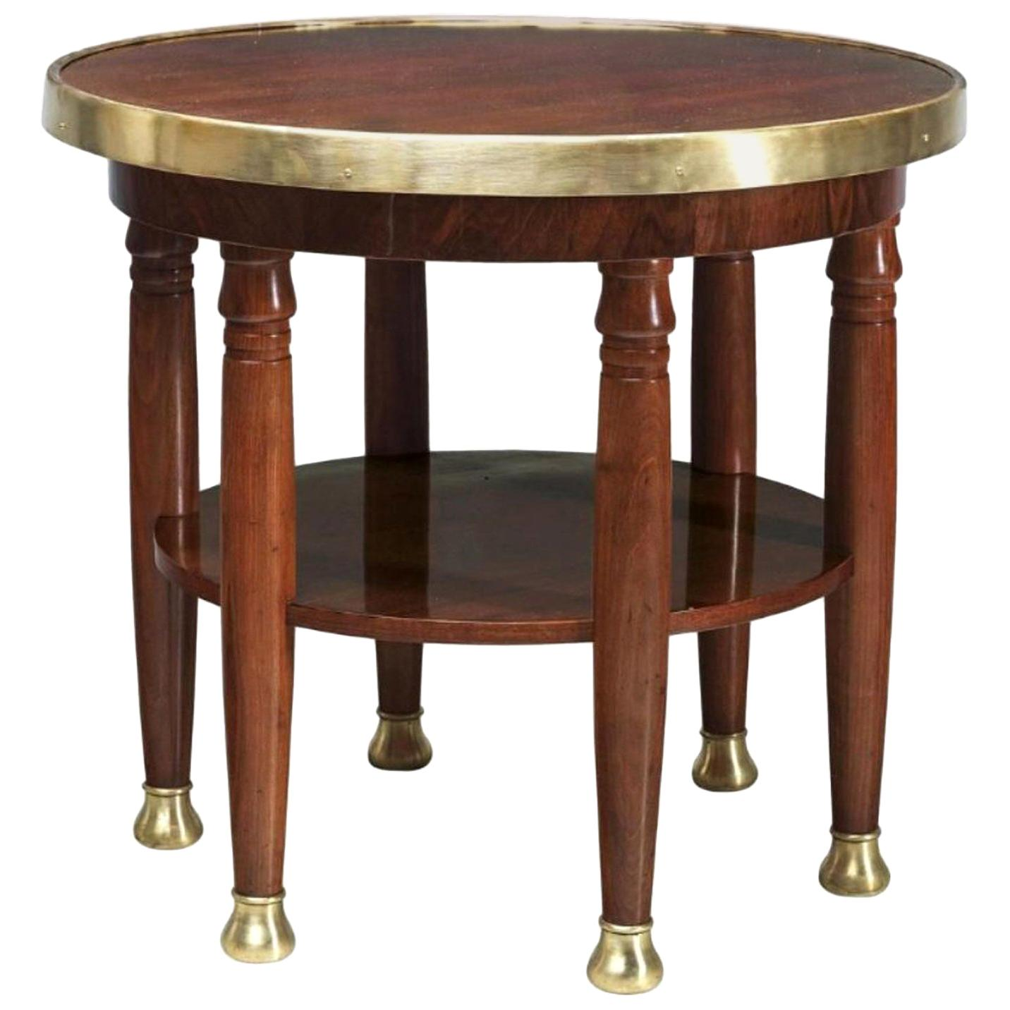 Original Adolf Loos Haberfeld Table Variation, Art Deco, Jugendstil, Secession