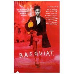 Original Adshel 'Basquiat' Movie Poster, circa 1996