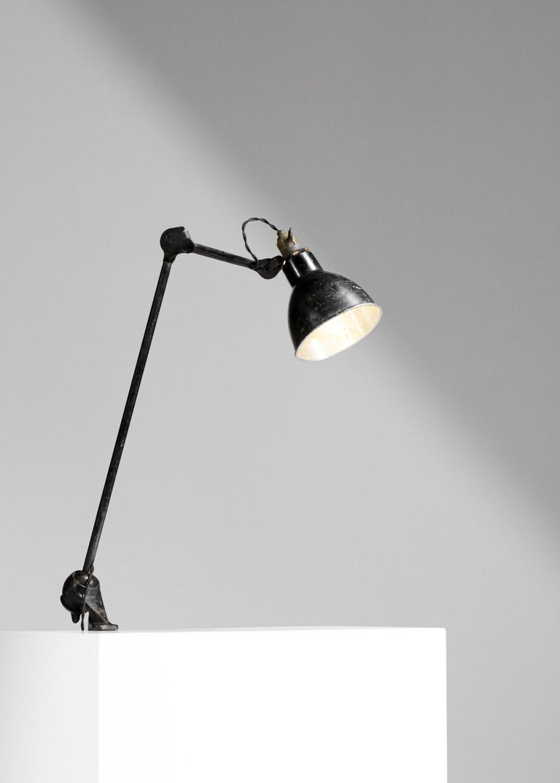 Original Albert Albin Gras Metal Workshop Lamp Table Le Corbusier 1940, F009 For Sale 5