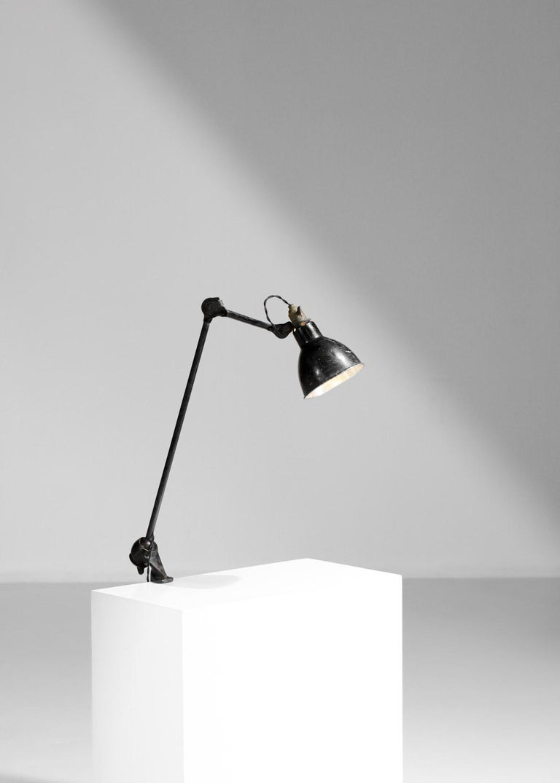 Original Albert Albin Gras Metal Workshop Lamp Table Le Corbusier 1940, F009 For Sale 6
