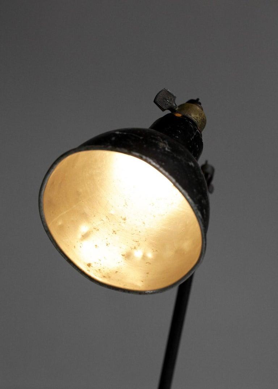 Original Albert Albin Gras Metal Workshop Lamp Table Le Corbusier 1940, F009 For Sale 7
