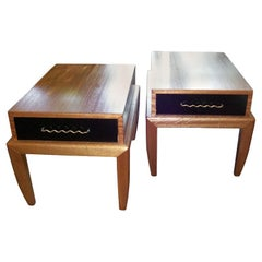 Original All Vintage Side-Tables by John Keal for Brown Saltman