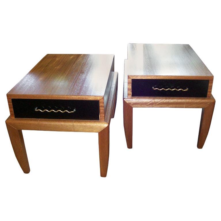 Original All Vintage Side-Tables by John Keal for Brown Saltman For Sale