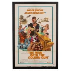 Original American Release James Bond 'Man With The Golden Gun' Poster, c.1974