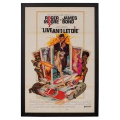 Original American 'U.S' Release James Bond 'Live And Let Die', c.1973