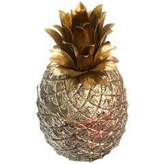 Original and Rare Mauro Manetti Pineapple Ice Bucket, 1950s