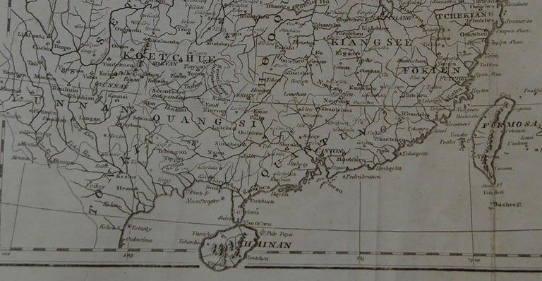 Other Original Antique Map of China, circa 1800 For Sale