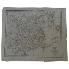 Original Antique Map of China, circa 1800