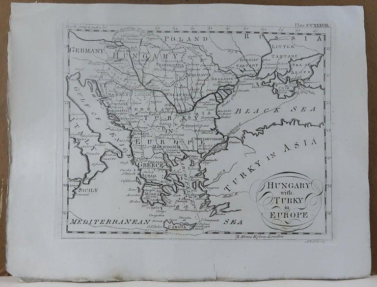 Other Original Antique Map of Greece, circa 1790