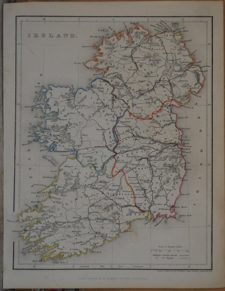 Great map of Ireland