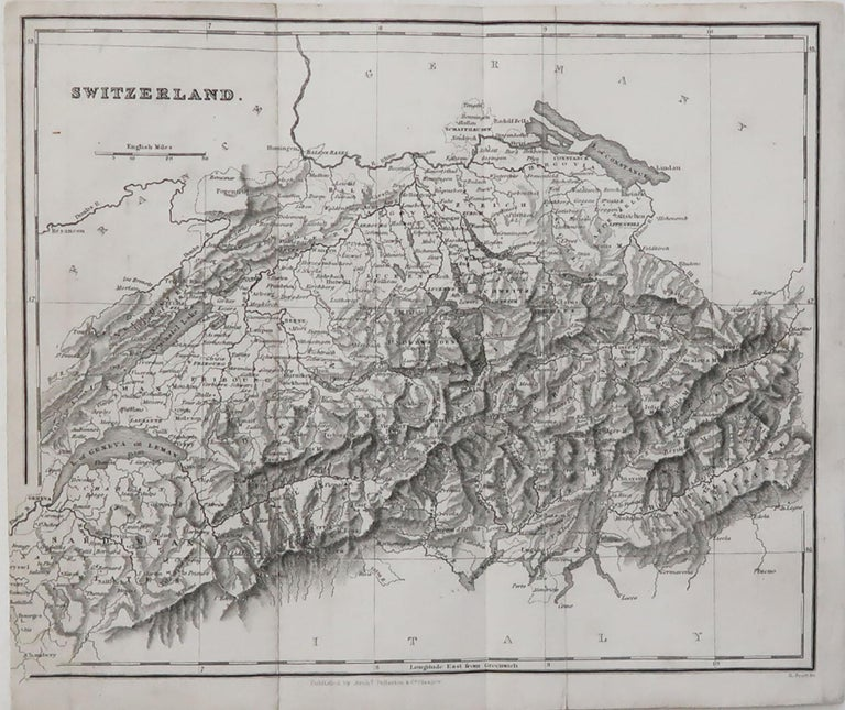 Great map of Switzerland