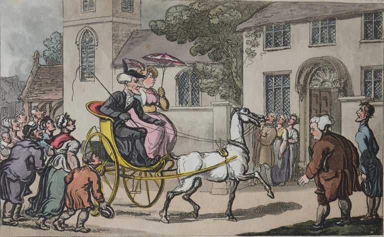 Great image by Thomas Rowlandson from the