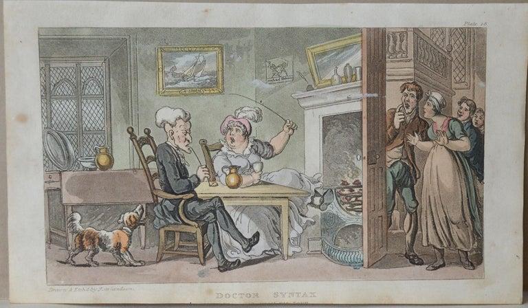 Georgian Original Antique Print after Thomas Rowlandson, 1813