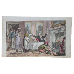 Original Antique Print after Thomas Rowlandson, 1813