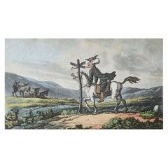 Original Antique Print after Thomas Rowlandson, 1813