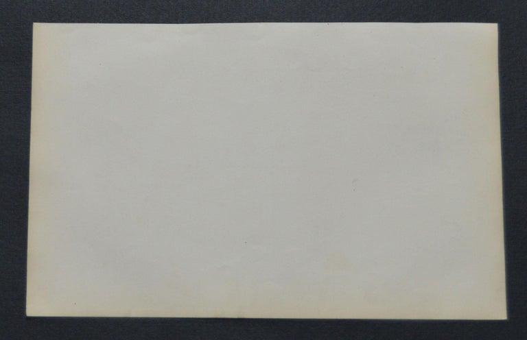 English Original Antique Print of Gnat-Catchers, 1847 'Unframed' For Sale