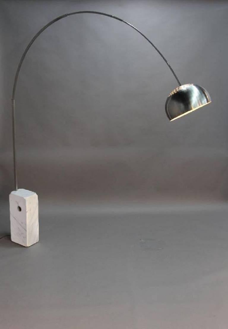 Original Arco Lamp by Achille Castiglioni for Flos For Sale at 1stdibs for Original Arco Lamp  570bof