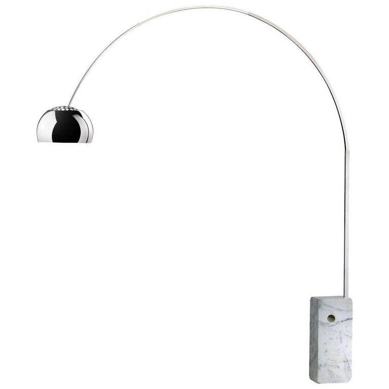 Original Arco Lamp by Achille Castiglioni for Flos