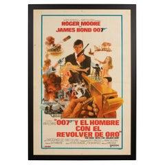 Original Argentinian Release James Bond 'Man with The Golden Gun' Poster, c.1974