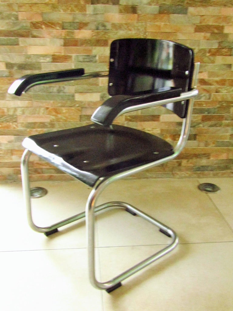 Original Art Deco Bauhaus Armchairs Breuer/ Stam 1932 For Sale 1