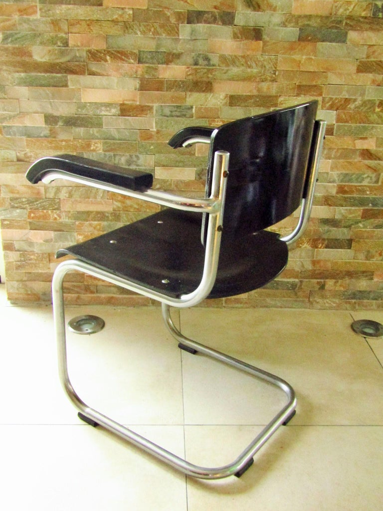 Original Art Deco Bauhaus Armchairs Breuer/ Stam 1932 For Sale 2