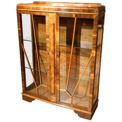 Original Art Deco Display Cabinet