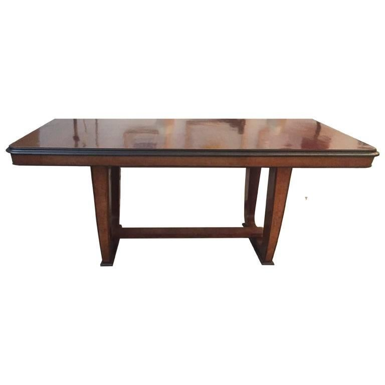 french art deco rosewood table for sale at 1stdibs. Black Bedroom Furniture Sets. Home Design Ideas