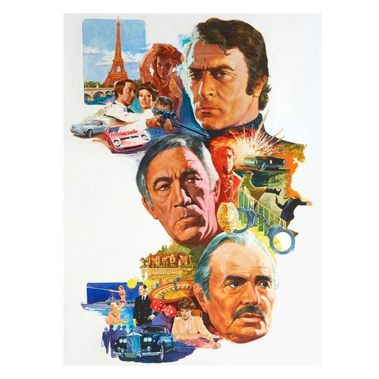 Original Art for 1970s Movie Poster For Sale