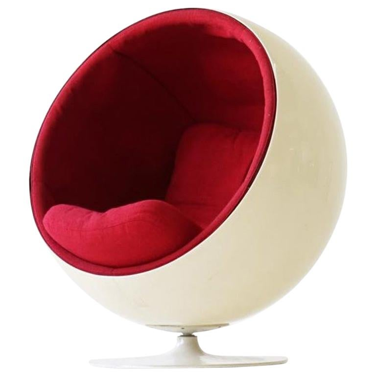 Original Ball Chair by Eero Aarnio Asko For Sale