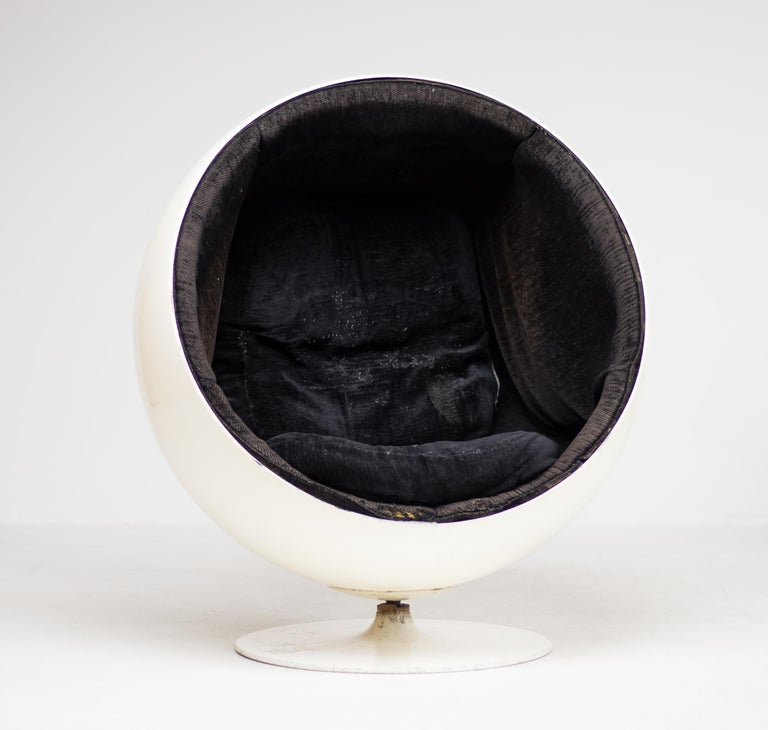 Original Ball Chair by Eero Aarnio for Asko In Fair Condition For Sale In Dronten, NL