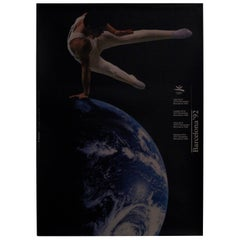 Original Barcelona Olympic 1992 Poster 'Olympiad Xxv' Designed by Addison