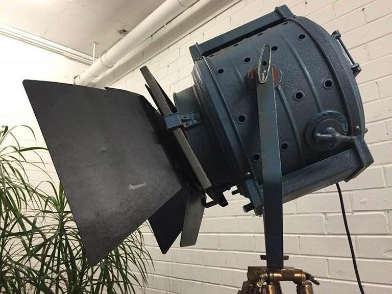 Original Barton Industrial Hollywood Movie Light With Barn