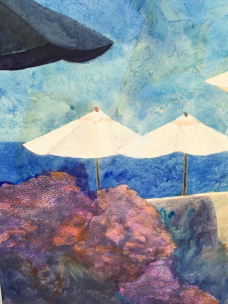 Modern Original Beach Scene Painting
