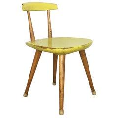 """Original Beechwood Children Chair Karla Drabsch for """"Kleid und Raum"""" 1955"""