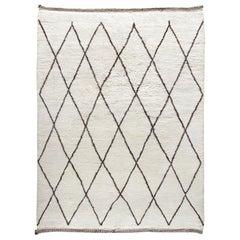 Original Beni Ourain Berber Style Moroccan Rug