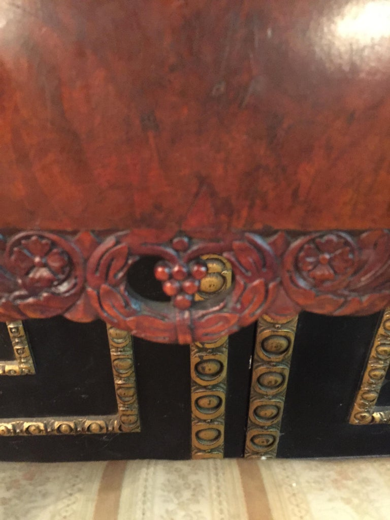 19th Century Empire Style a Russian Armchair For Sale 7