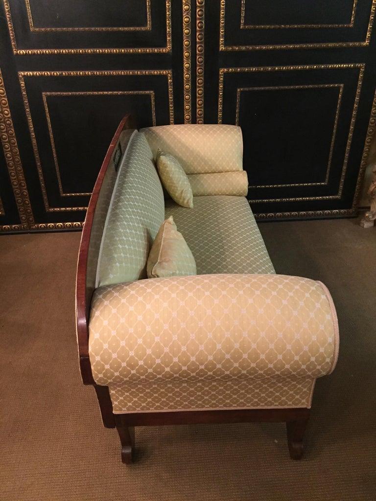 Original Biedermeier/Empire Sofa with  Bronze Applikationen, circa 1810  For Sale 9