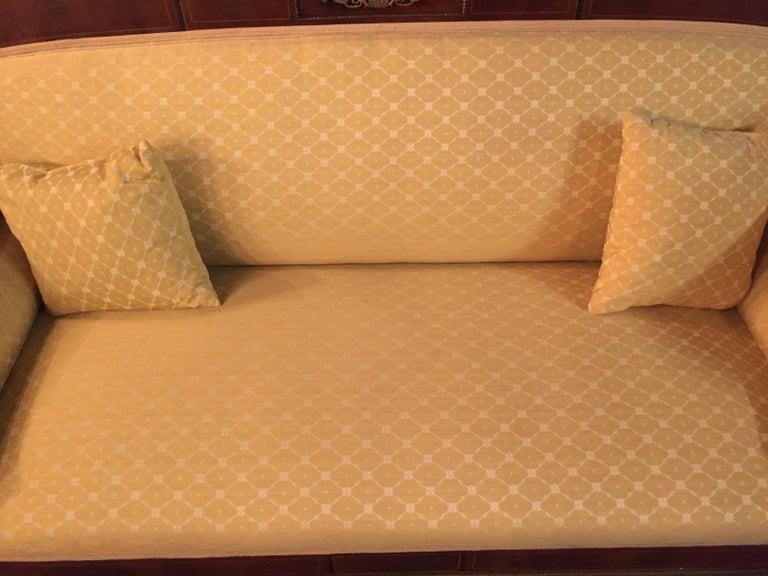 Original Biedermeier/Empire Sofa with  Bronze Applikationen, circa 1810  For Sale 2